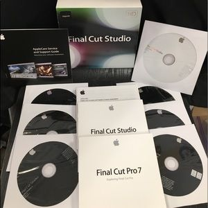 Excellent Apple Final Cut Studio 3